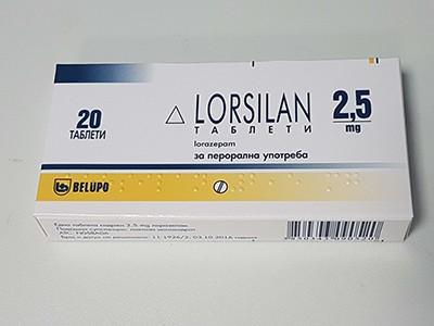 Lorazepam Hexal 2.5mg Brand Farmavita