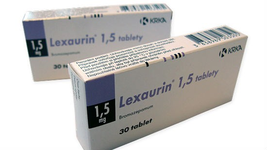 Bromazepam Lexaurin 1.5 mg
