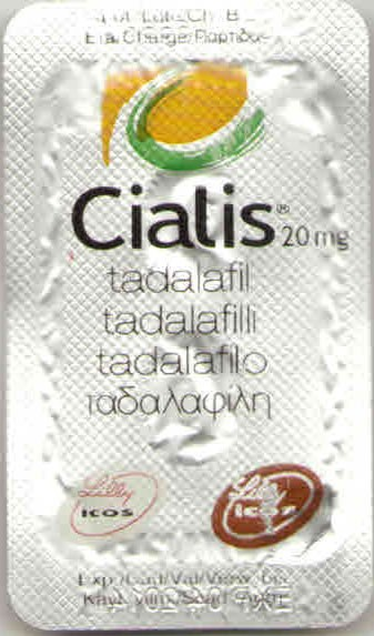 Cialis Brand 20 mg Lilly
