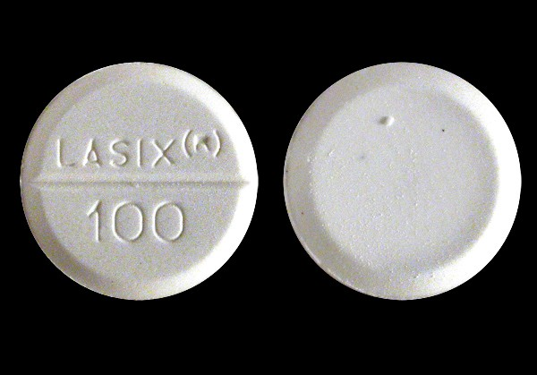 Lasix (furosemide Frusenex) 100 mg