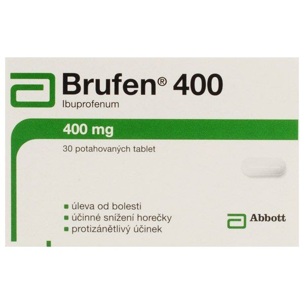 Brufen Generika  (Ibuprofen) 400 mg