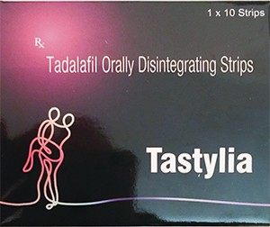 Tadalafil Tastylia- tiras de disolución oral 20 mg