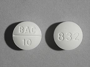 Baclofen 10 mg