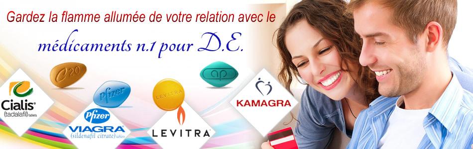 Viagra, Cialis, Levitra, Kamagra - dysfunction erectile