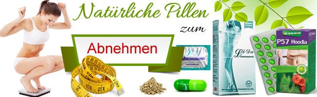 Natürliche Pillen zum Abnehmen