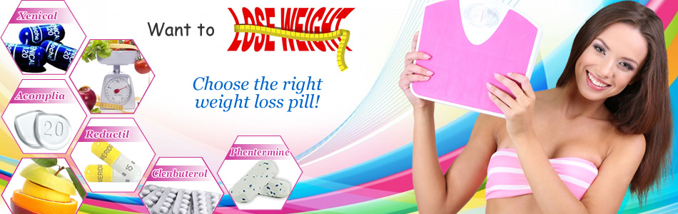 Weight Loss Products: Reductil Sibutramine, Acomplia, Xenical, Clenbuterol, Phentermine