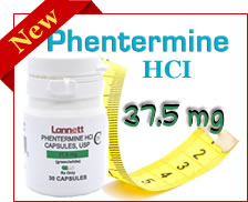 Phentermine Lannet 37.5 mg
