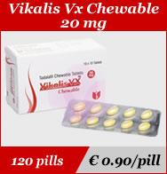 Vikalis vx Chewable 20mg